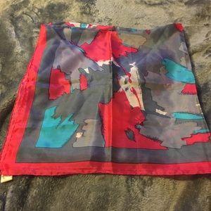 80's silk scarf